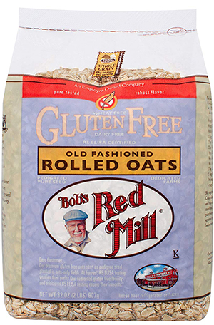 bag of oats gluten free cereal