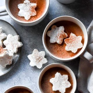 5 cups of low carb hot chocolate