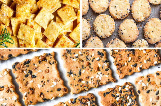*NEW* You no longer need to deny your inner child - low carb crackers are the crunchy delicious lifeblood of low carb snack life. #lowcarbcrackers #ketocrackers