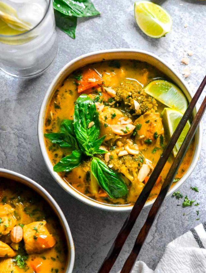 Chicken Curry Soup (30 Minutes!)