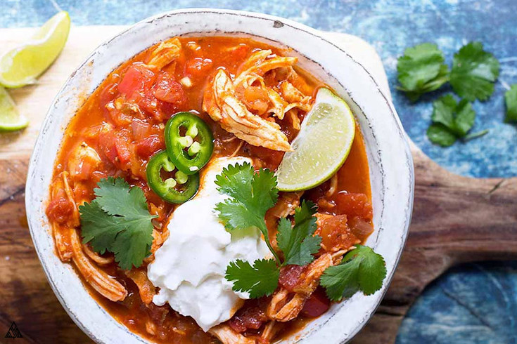 One of the best low carb soup recipes is low carb taco soup