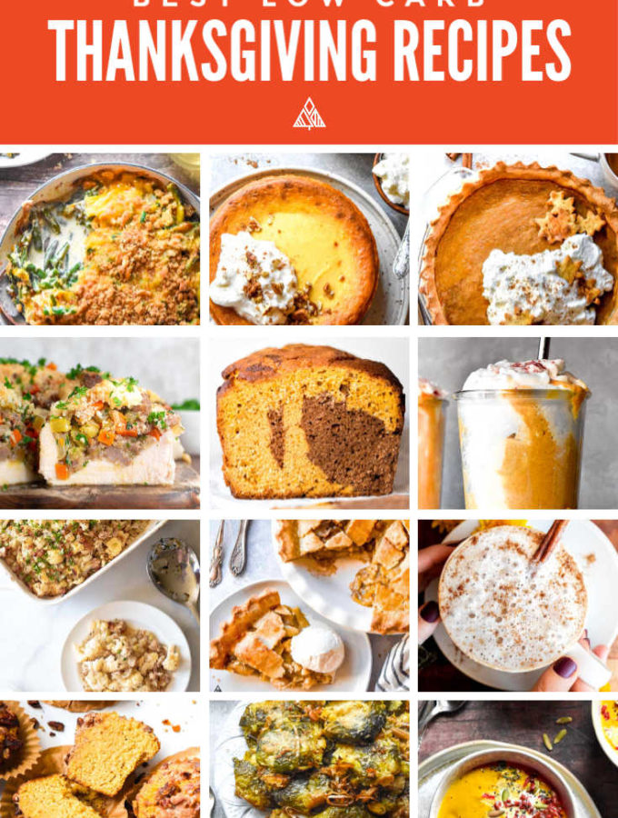 16 Best Low Carb Thanksgiving Recipes!
