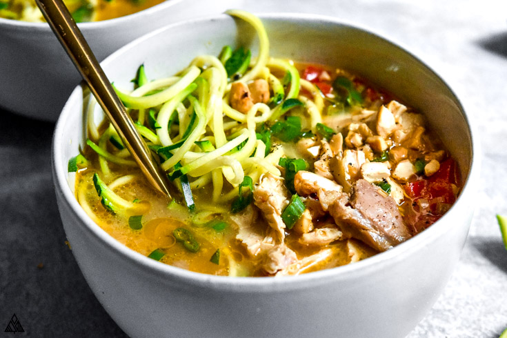 My low carb soups use a lot of spices and vegetables to keep them complex and nutritious, but you'll be blown away by how mouth-watering these healthy recipes really are. #ketosoup #lowcarbsoup